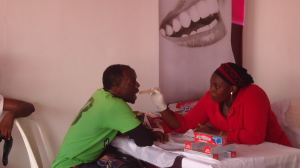 Free Dental Care Done by Daraju at Fair